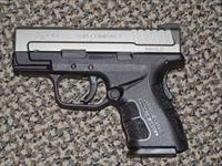 SPRINGFIELD ARMORY XD-9 SUB-COMPACT MOD 2 DUO-TONE 9 MM PISTOL