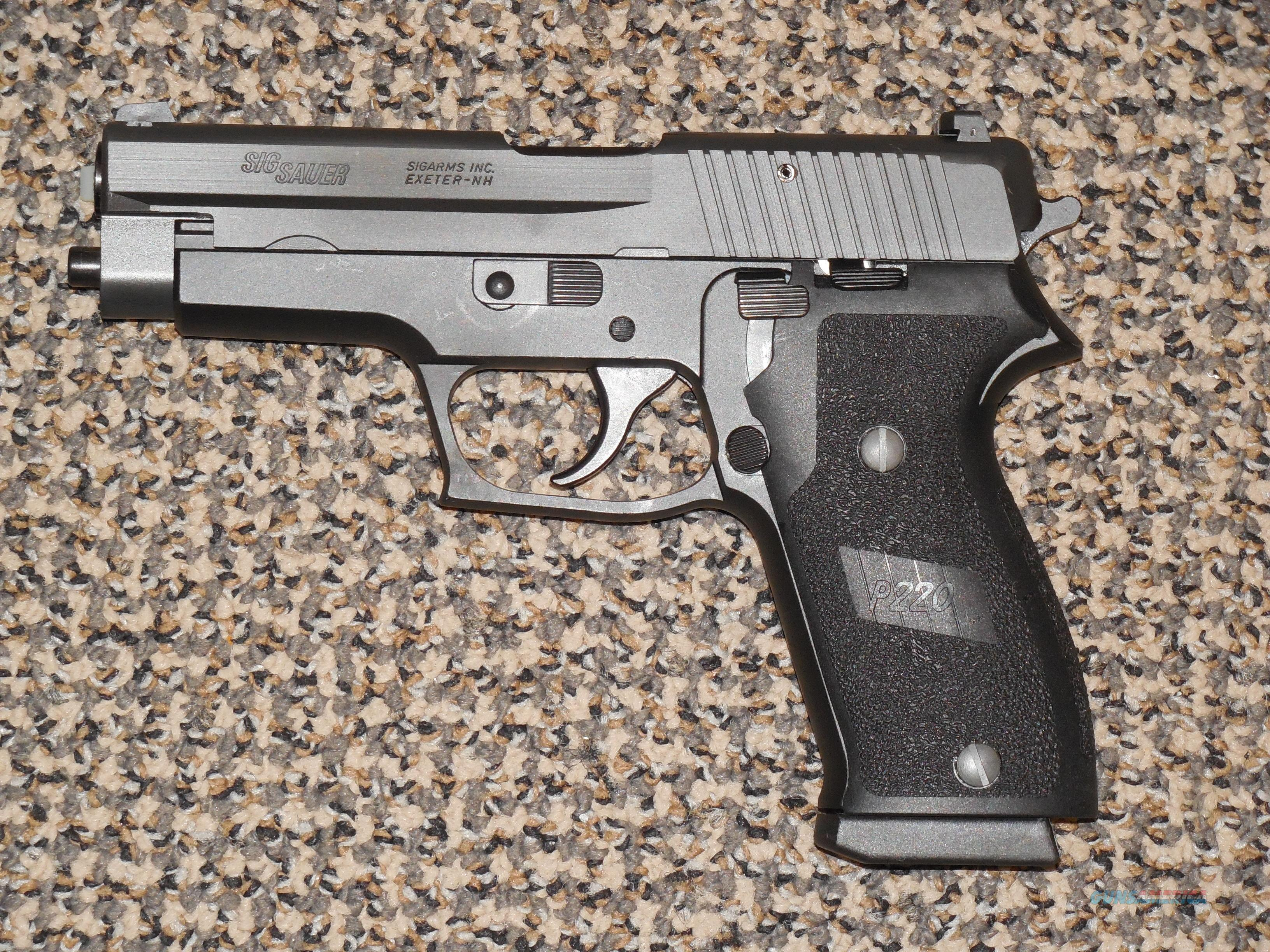 SIG SAUER P-220 FACTORY REFURBISHED  45 ACP PISTOL