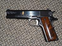 "REMINGTON 1911 MODEL R1 ENGRAVED ""200TH ANNIVERSARY"" .45 ACP PISTOL -- REDUCED!!!"
