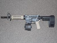 SIG SAUER M-400 PISTOL IN 5.56 with SIG BRACE AND 50-ROUND X-PRODUCTS MAGAZINE