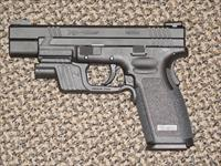 Springfield Armory XD-45 TACTICAL WITH LIGHT AND TRIGGER JOB