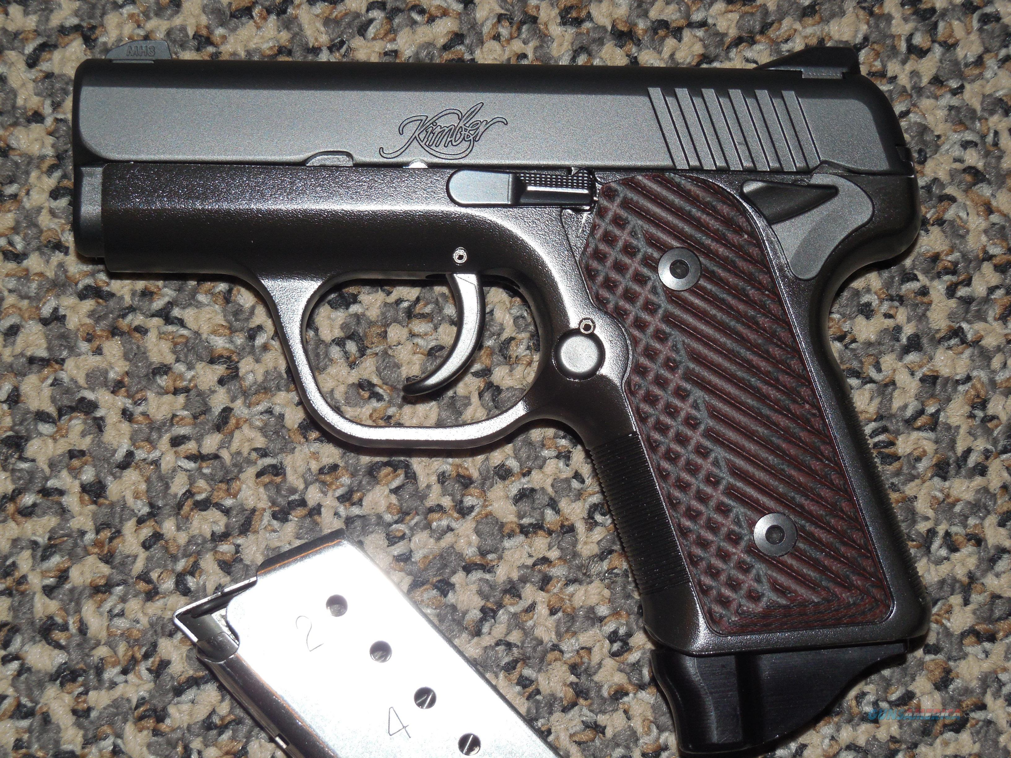KIMBER SOLO CARRY DC 9 MM WITH NIGHTSIGHTS , VZ GRIPS, AND TWO MAGS
