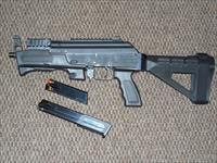 CHARLES DALY/CHIAPPA  AK-9 PISTOL IN 9 MM WITH SB TACTICAL BRACE USES BERETTA MAGS