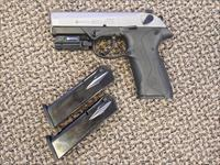 BERETTA PS4 STORM IN .40 S&W WITH THREE MAGS AND LASER