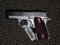 KIMBER  MICRO 9 CRIMSON CARRY 9 MM PISTOL WITH LASER