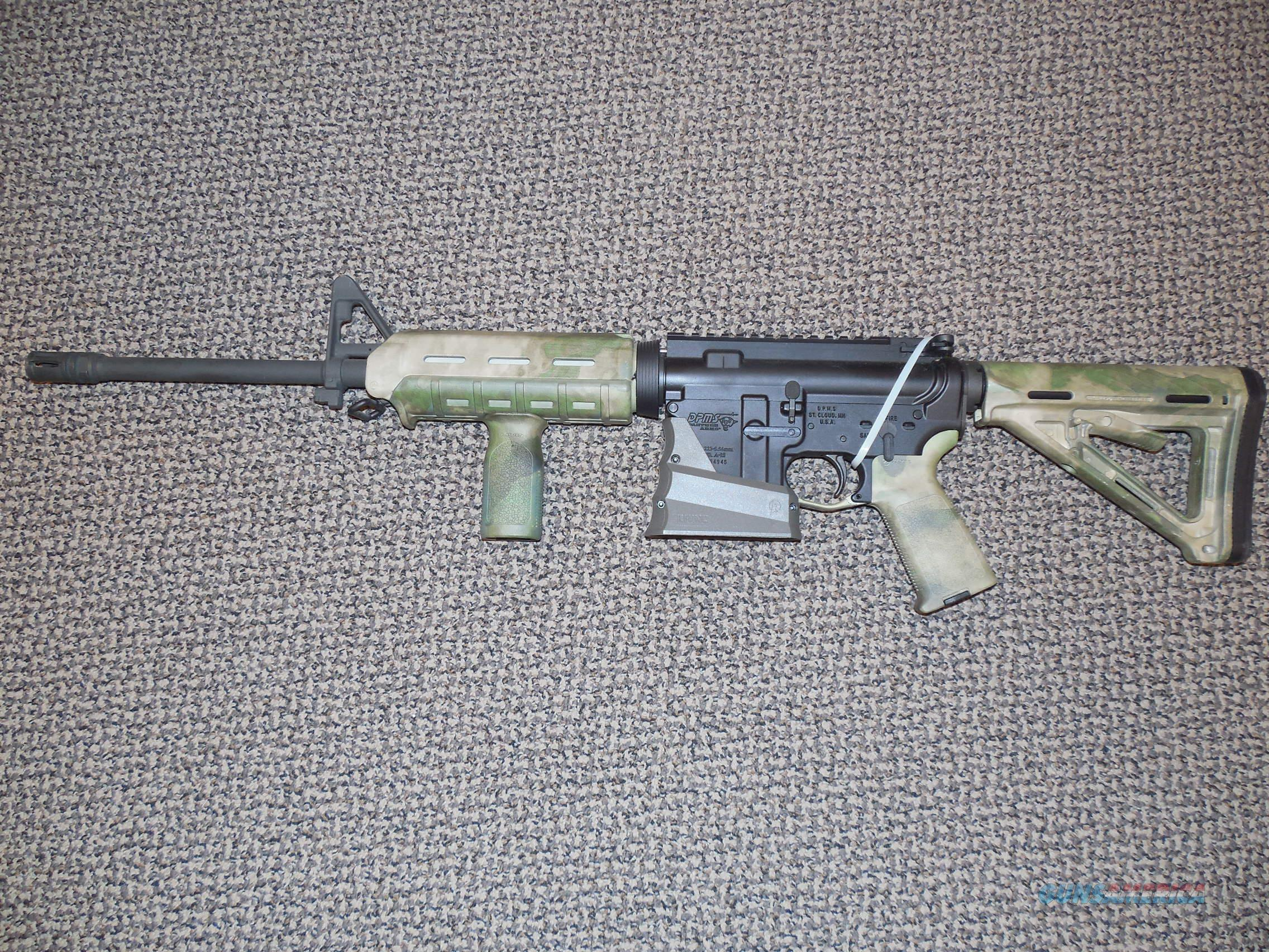 dpms a (m) carbine with camo moe furniture for sale - dpms a (m) carbine with camo moe furniture guns  rifles