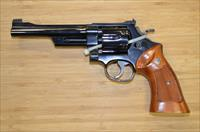 S&W MODEL 27-2 SIX-INCH BLUE .357 MAGNUM REVOLVER