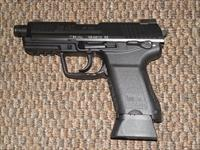 H&K MODEL 45C TACTICAL PISTOL WITH THREADED BARREL  AND NIGHT SIGHTS