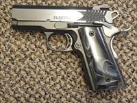 "STI ""ELECTRA"" .45 ACP PISTOL WITH 3-INCH BARREL AND BLACK PEARL GRIPS"