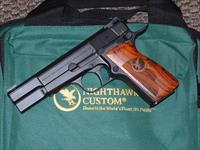 NIGHTHAWK CUSTOM BROWNING HI POWER 9 MM PISTOL