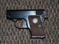 COLT POCKET HAMMERLESS .25 ACP UNFIRED!