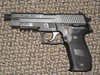 "SIG SAUER MK 25 ""NAVY SEAL"" 9 MM PISTOL WITH THREADED BARREL"