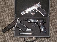 "CZ ""MINI COLLECTION"" WITH TRIO OF MODEL CZ-75's FOR ONE PRICE"