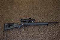 RUGER CUSTOM SHOP 10/22 COMPETITION HEAVY-BARREL .22 LR RIFLE SCOPED