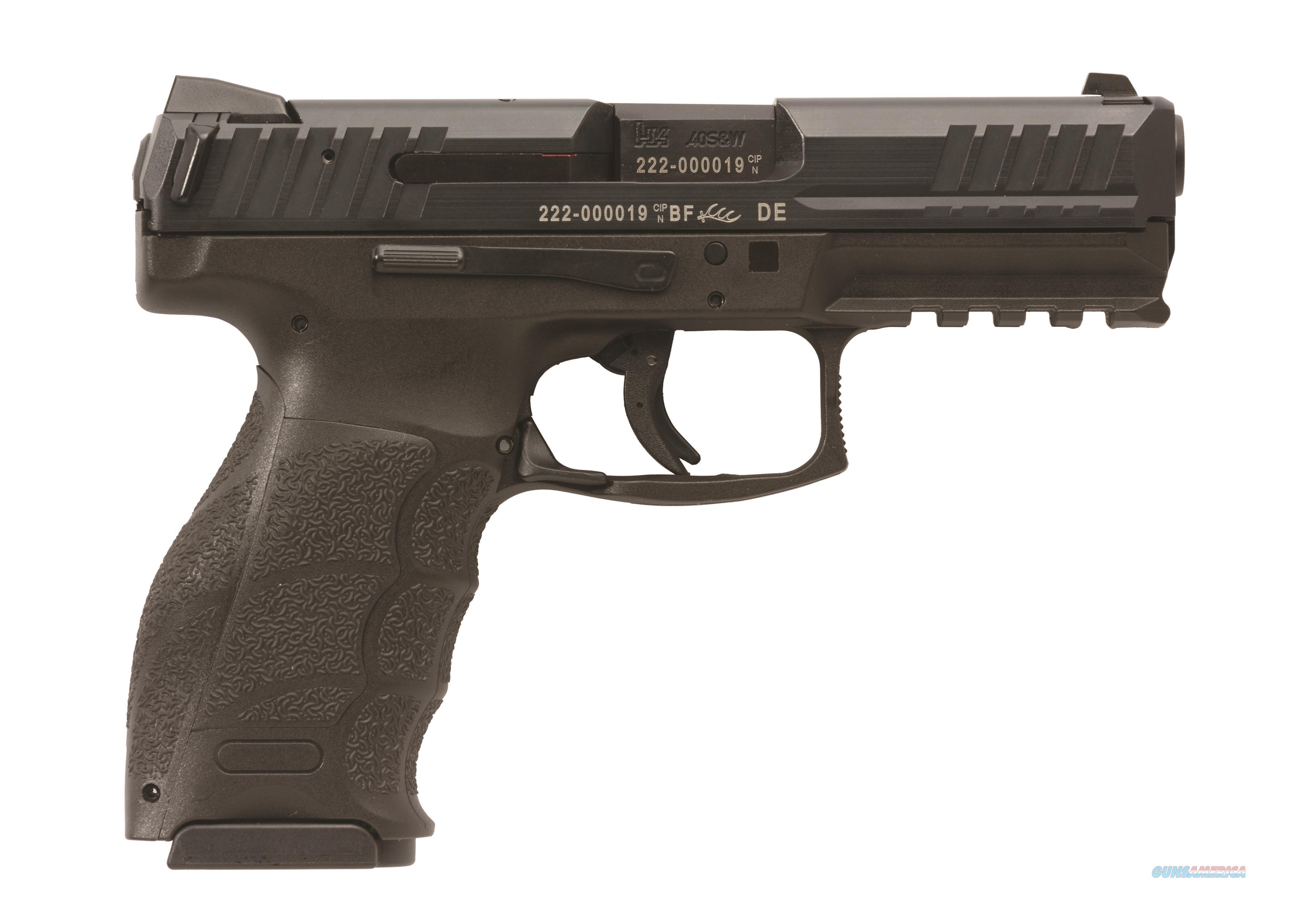 Hk vp40 40 s amp w handgun 3 13 round magazines 3 dot tritium night