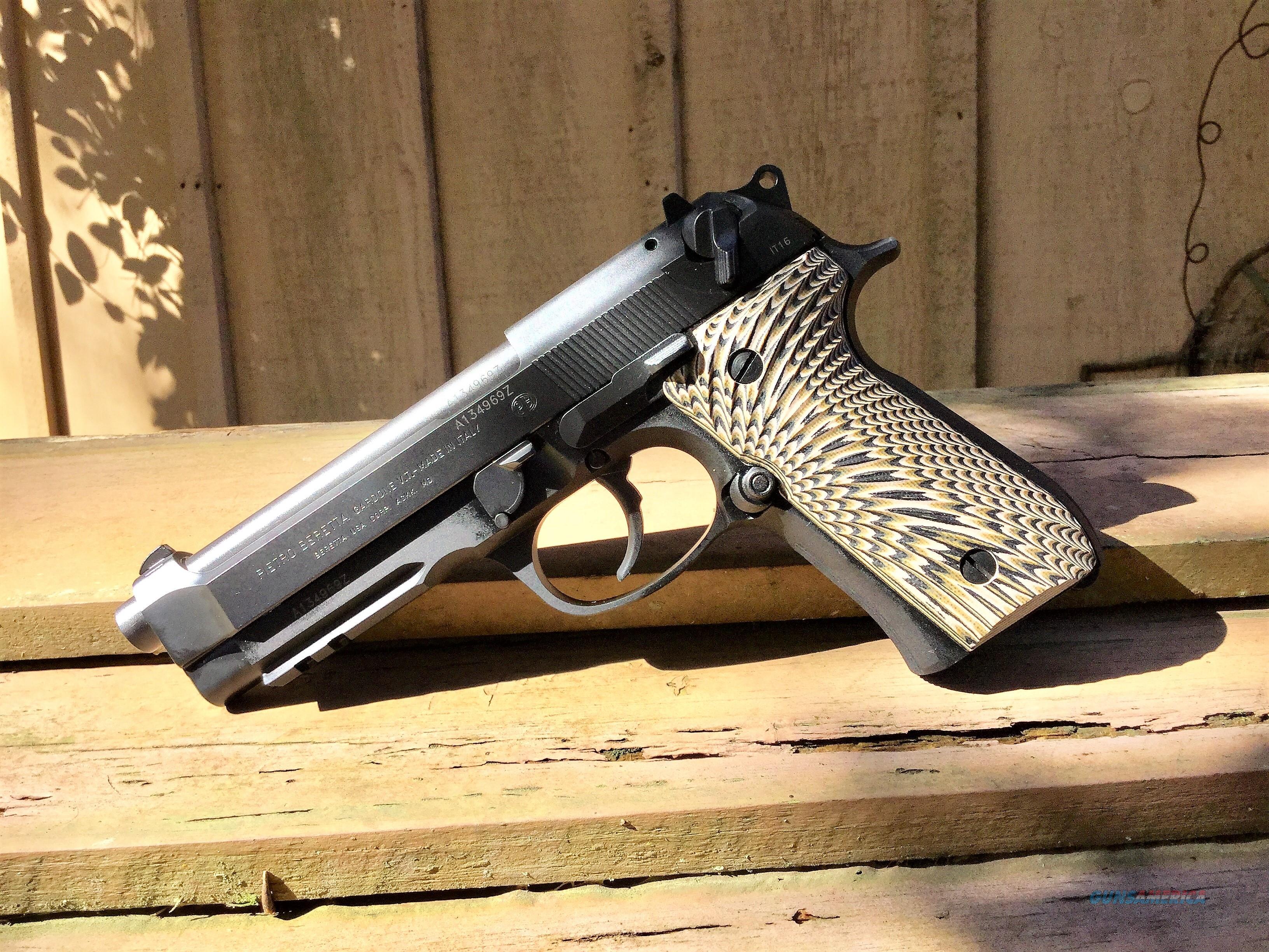 Beretta 92A1, w/Mods