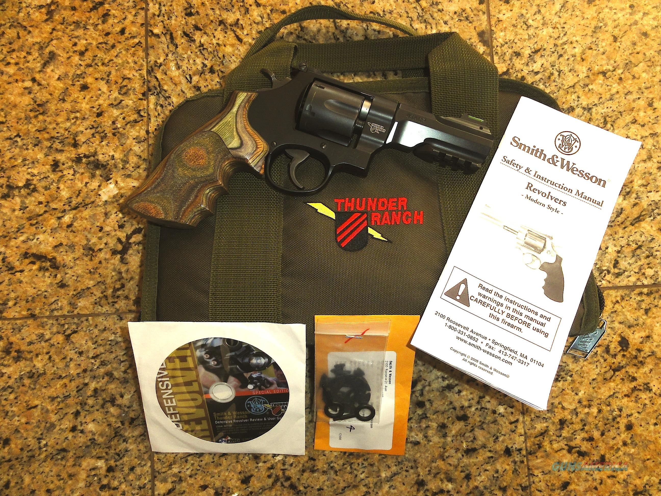 SMITH & WESSON 325 THUNDER RANCH  45 ACP PERFORMANCE CENTER TACTICAL  REVOLVER NEW!!