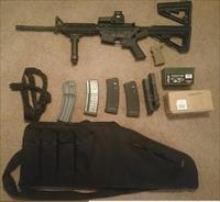 My AR-15 + A Lot of Goodies