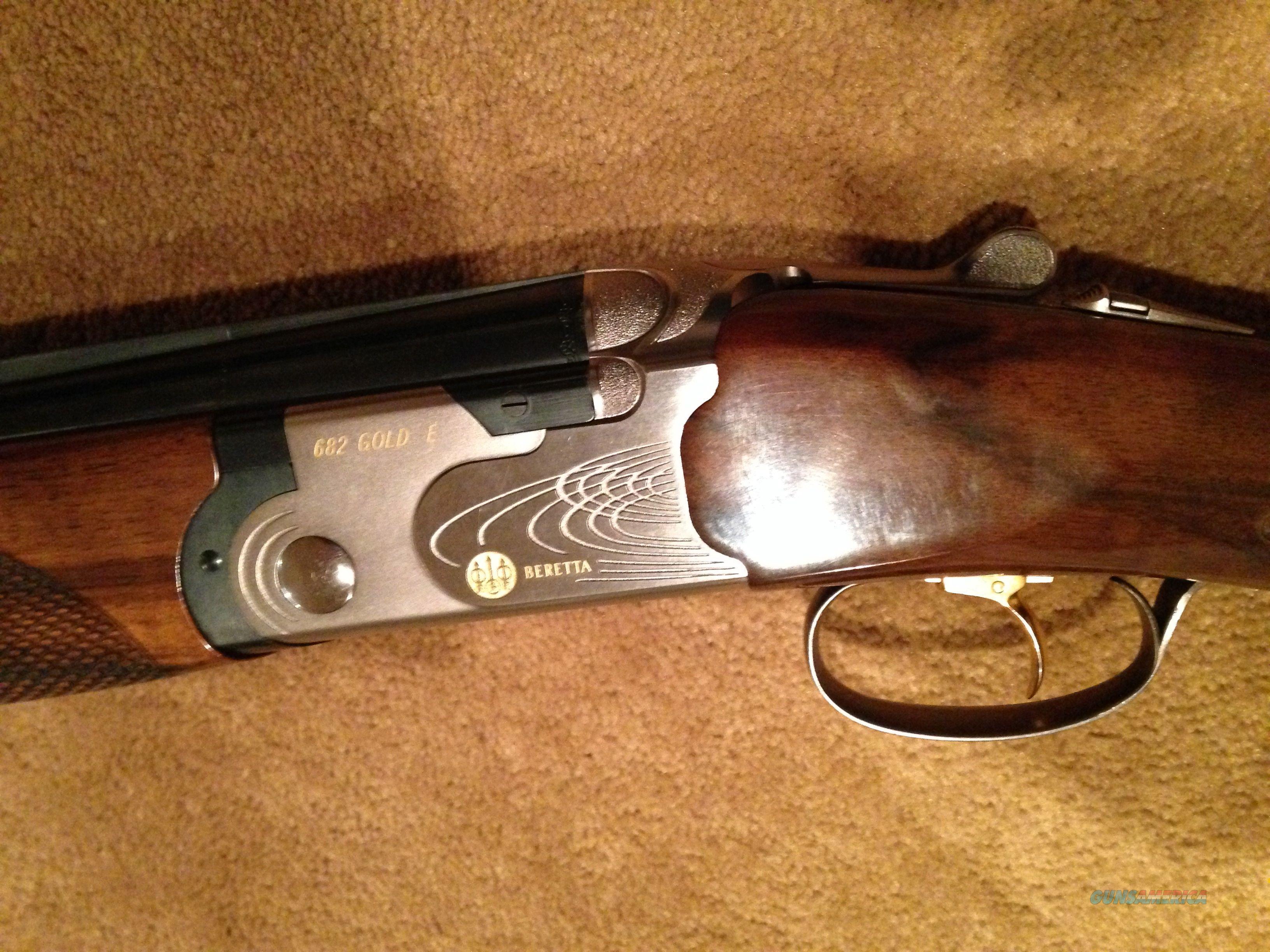 Beretta 682 Gold E Sporting 12 Guage Guns Shotguns O