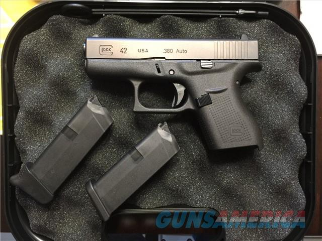Used Glock 42 G42  380 for sale - excellent condition