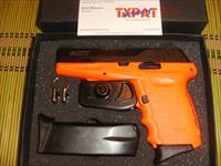SCCY CPX-2 - ORANGE W/BLACK SLIDE - 9MM - TWO 10 RD MAGS - NEW IN BOX W/TRIGGER LOCK - FAST $5.99 PRIORITY SHIPPING!