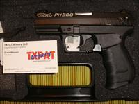 WALTHER PK380 - ALL BLACK - NEW IN CASE - FAST PRIORITY SHIPPING - EASY SLIDE/ACTION FOR WOMEN & WEAKER HANDS - LADIES FAVORITE