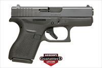GLOCK 42 - NEW IN CASE - GREAT CCW - FREE  PRIORITY SHIPPING - DAVIDSON'S LIFETIME GUARANTEE - TXPAT ARMORY LLC