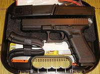 GLOCK 17 GEN 4 - NEW IN CASE W/3 17 RD MAGS, BACKSTRAPS, LOADER, BRUSH/ROD - TXPAT ARMORY LLC