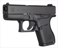 GLOCK 43 9MM FACTORY TRITIUM NIGHT SIGHTS - GREAT CCW PISTOL - FAST SHIPPING - ACT NOW! THESE SELL FAST! - CONSECUTIVE SERIAL NUMBERS AVAILABLE!