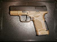 "SPRINGFIELD XD-S - 3.3"" BARREL - FDE FRAME - FIBER OPTIC FRONT SIGHT - NEW IN CASE - FAST PRIORITY SHIPPING!4"
