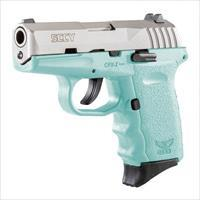 SCCY CPX-2 - TIFFANY BLUE 9MM - TWO 10 RD MAGS - NEW IN BOX W/TRIGGER LOCK - FAST SHIPPING