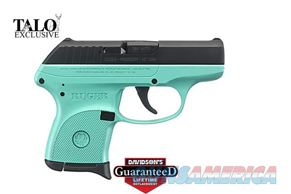 RUGER LCP  380 - TURQUOISE CERAKOTE SPECIAL EDITION - FREE POCKET HOLSTER -  $12 99 PRIORITY SHIPPING - GREAT CCW -! TXPAT ARMORY LLC