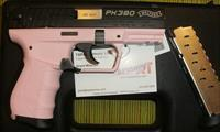 WALTHER PK380 - PINK BEAUTY! - 2 MAGS! $14.99 PRIORITY SHIPPING - EASY SLIDE/ACTION PREFERRED BY WOMEN & THOSE WITH WEAKER HANDS - LADIES FAVORITE