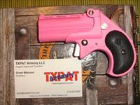 COBRA .22 MAGNUM DERRINGER - PINK CERAKOTE WITH WHITE GRIPS - AFFORDABLE SINGLE ACTION PROTECTION