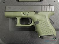 GLOCK 26 GEN 4 - FACTORY BATTLEFIELD GREEN FRAME - NEW IN CASE W/3 MAGS, BACKSTRAPS, BRUSH/ROD - $1.99 PRIORITY SHIPPING - TXPAT ARMORY LLC