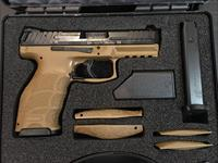 H&K VP9 FDE LE W/FACTORY NIGHT SIGHTS, 3 15 RD MAGS, BACKSTRAPS - FREE SHIPPING - TXPAT ARMORY LLC