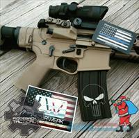 Punisher AR Teflon Laser engraved Magazines FREE SHIPPING 30 Rd 5.56 high cap Great mil spec Mag