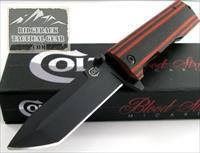 "Colt ""Blood Stripe"" Tanto Blade EDC 8"" $22 NF Edged Weapon EDC Concealed Tactical NO FEES!"