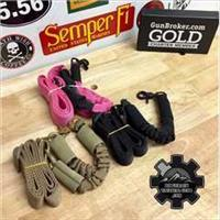 VISM Tactical Weapons Sling QR Black $23 NO FEES Single Point Bungee HD Sling AR AK SBR CARBINE  3 Colors Available