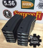 10 Pack AR 5.56 30 Round Black Teflon Mags Milspec Magpul D&H PSA  NO CC FEES FREE SHIPPING