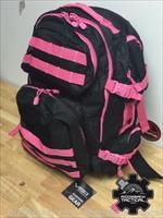 VISM Protective Backpack Class IIIA Soft Armor Tactical Police Armor Pink Trim Level IIIA Protection $179