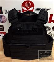 VISM Level 3 Armor Vest Stops 7.62 5.56! $299 Adj Plate Carrier, Med thru 2X 4 Plates NO FEES
