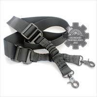 Tactical Rifle Sling by ARMSTAC® MX-2 2-Point Battle Gun Shoulder Strap with Steel Clip + Lifetime Warranty