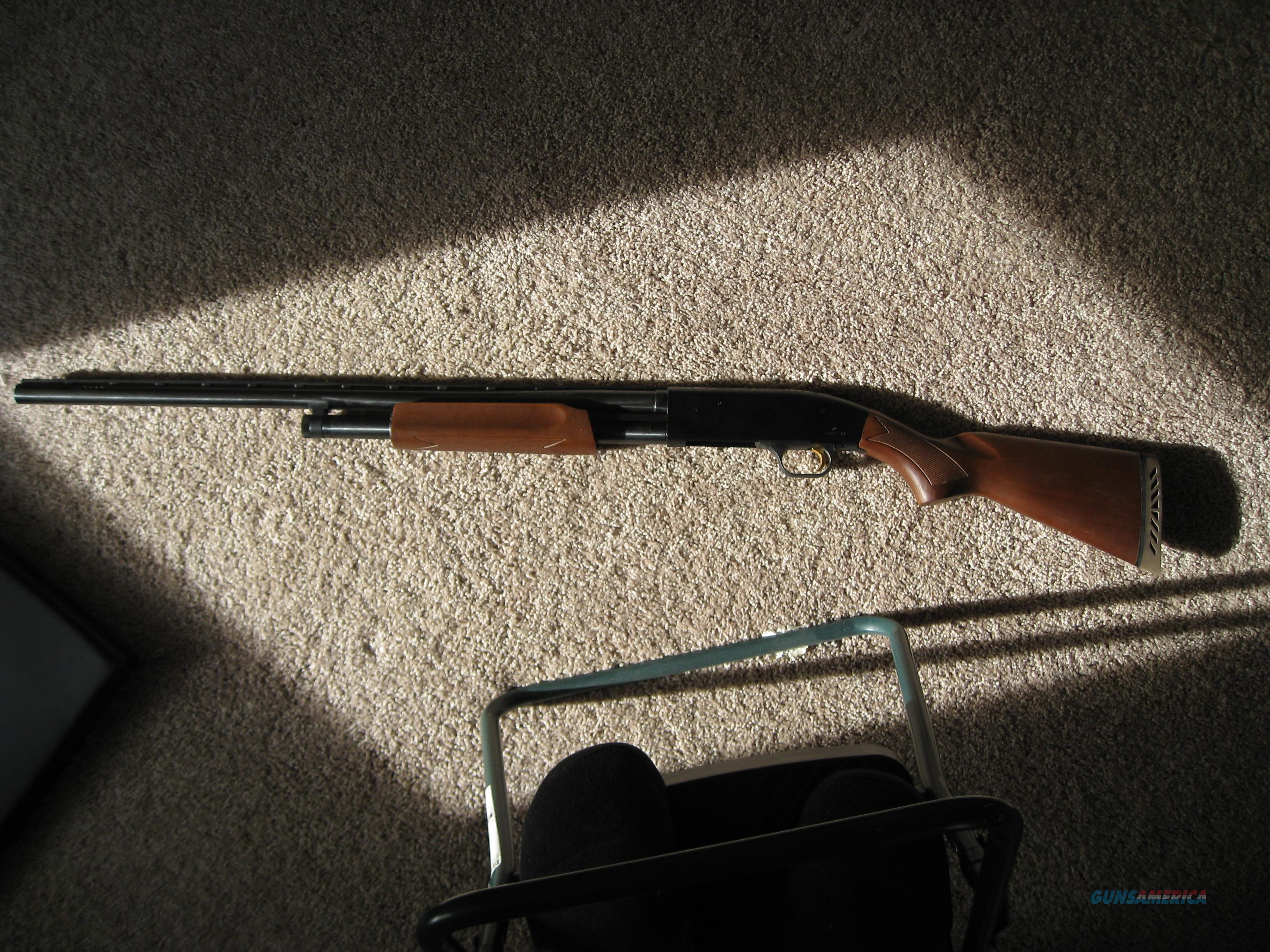 Mossberg 500 12ga 28in Vr Accuchoke Wood Stock For Sale