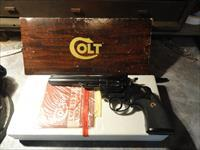 Colt Trooper .22 cal Revolver With Original Box And Paperwork