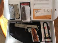 Ruger sr1911 stainless