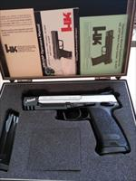 Heckler and Koch USP Match .45 ACP  stainless steel
