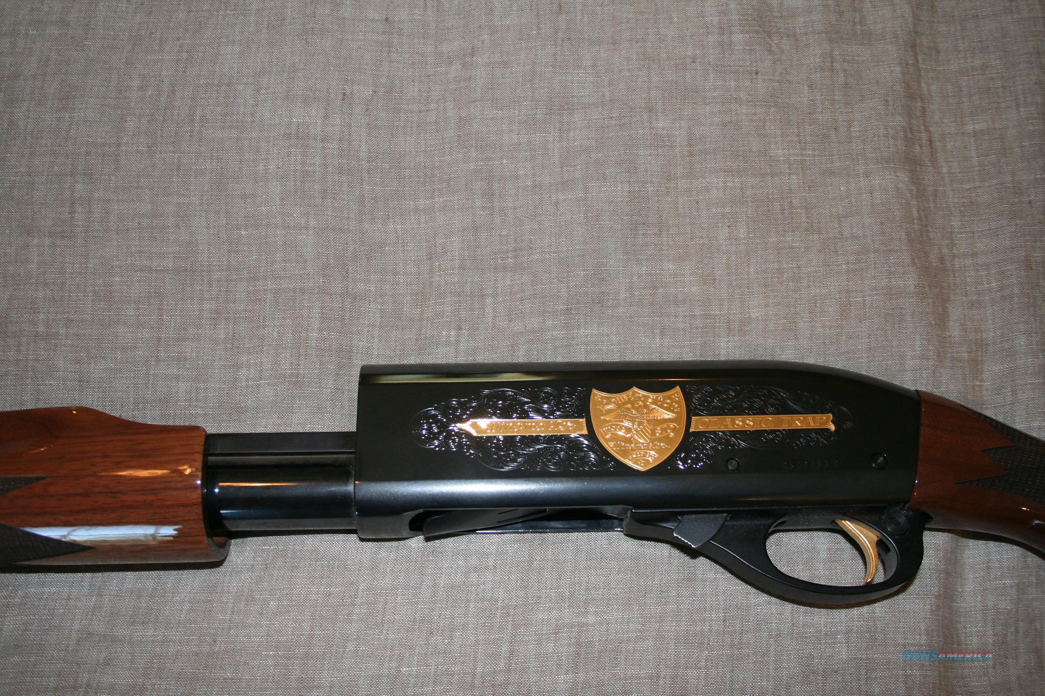 Remington Model 870 Wingmaster Classic Trap w/ Slug barrel