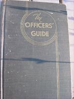 The Officer's Guide, 6th ed. Nov. 1941, The Military Service Publishing Company, Harrisburg, Penn. 1941