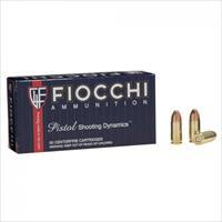 Fiocchi 9MM LUGER 115 GRAIN FMJ 500 Rounds
